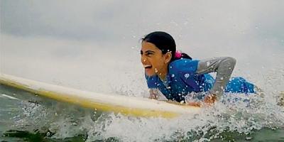 Gaza's surfers.