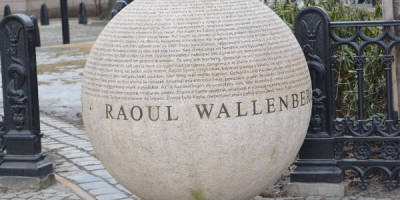 Raoul Wallenberg monument.